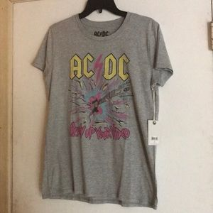 """NEW Graphic AC/DC """"Blow up your video"""" T-shirt"""